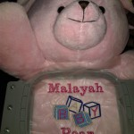 Photo that inc. 215*222*1022 can embroidery on stuffed animals